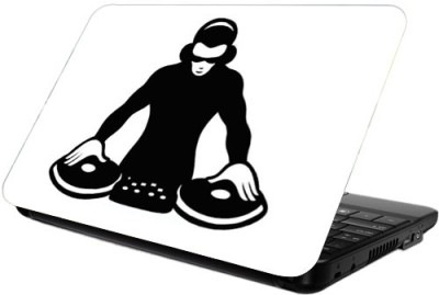Printland DJ Beat Vinyl Laptop Decal 13