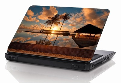 BSEnterprise Sea With Sun 15.6 Inch Notebook Skin Sticker Cover Art Decal Fits 13.3