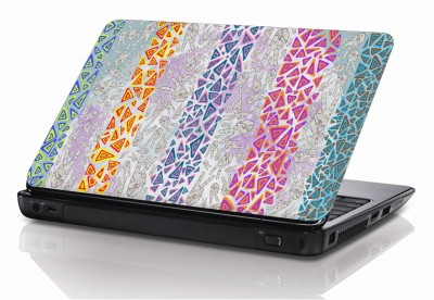 BSEnterprise Colorfull Lines 15.6 inch Laptop Notebook Skin Sticker Cover Art Decal Fits 13.3