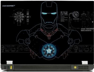 Skincentral Skinkart Iron Man Engineering Vinyl Laptop Decal