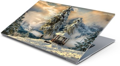 Lovely Collection chilling snowfall Vinyl Laptop Decal