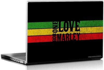 Bravado Bob Marley One Love Vinyl Laptop Decal