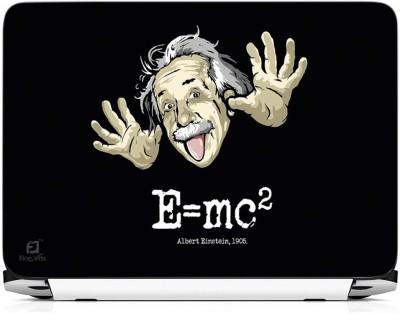 FineArts E MC2 Albert Einstein Vinyl Laptop Decal 15.6