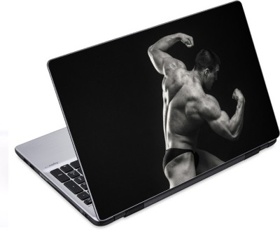 ezyPRNT Muscular Pose Body Building (14 to 14.9 inch) Vinyl Laptop Decal 14