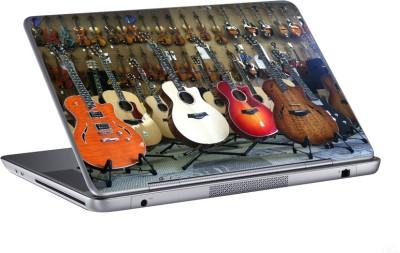 AV Styles the guitar shop skin Vinyl Laptop Decal 15.6