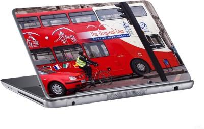 AV Styles london sightseeing tour bus skin Vinyl Laptop Decal 15.6