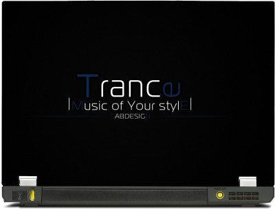 SkinShack Trance - Music of Your Style (12.1 inch) Vinyl Laptop Decal 12.1