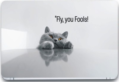 Trendsmate Fly fools 3M Vinyl and Lamination Laptop Decal 15.6