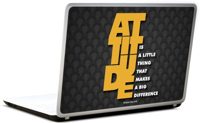 Lab No. 4 Attitude Winston Churchill Quote Vinyl Laptop Decal