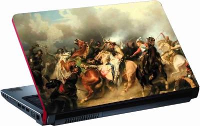 Sab Kuch Print warroirs 362 Polyester Laptop Decal 14.1