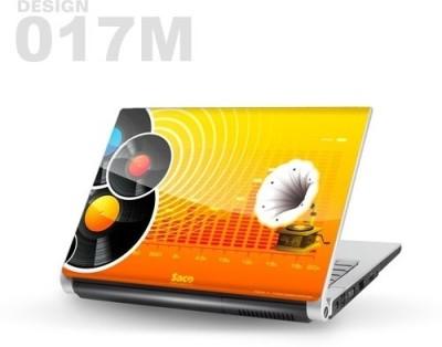 Saco Metallic Skin-17 Metallic PET Laptop Decal