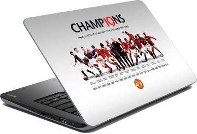Posterhunt SVshi1277 FC Manchester United Laptop Skin Vinyl Laptop Decal 14.1
