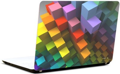 Pics And You Pattern Boxes Vinyl Laptop Decal