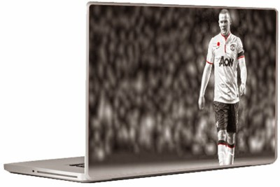 Theskinmantra Zidane Walks Universal Size Vinyl Laptop Decal 15.6
