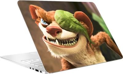AV Styles Sly Lion Cartoon By Av Styles Vinyl Laptop Decal 15.6
