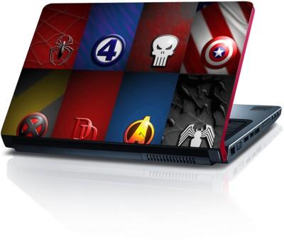 Shopkeeda Super Heros League Vinyl Laptop Decal
