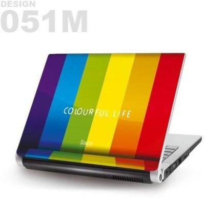 Saco Metallic Skin-51 Metallic PET Laptop Decal 15.6
