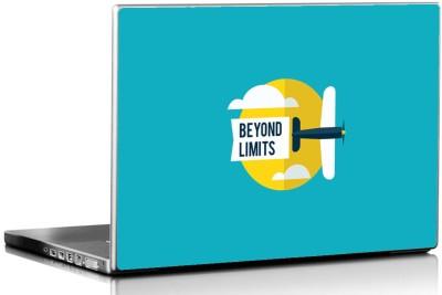 Seven Rays Beyond Limits Vinyl Laptop Decal 15.6