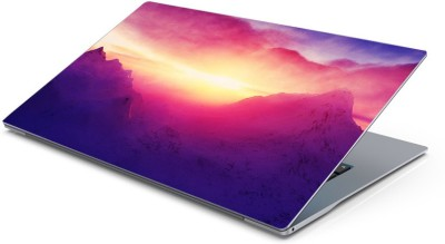 Lovely Collection Bright Sunrise Vinyl Laptop Decal 15.6