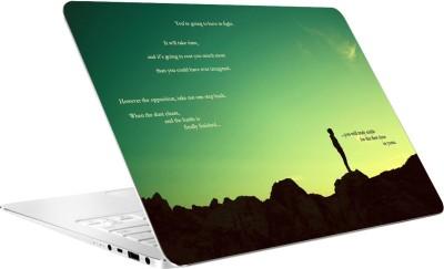 AV Styles You Will Truly Smile Vinyl Laptop Decal 15.6