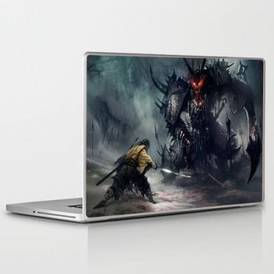 Theskinmantra David Vs Goliath PolyCot Vinyl Laptop Decal 15.6
