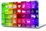 Global Social Media Icons Vinyl Laptop D...