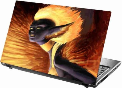 virtual prints negative image digitally printed Laptop Decal 15