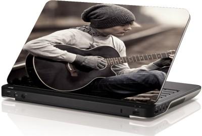 Swati Graphics Sgls056 Playing Guiter Vinyl Laptop Decal 15.6