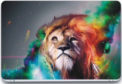 Trendsmate Abstract Lion 3M Vinyl and Lamination Laptop Decal 15.6