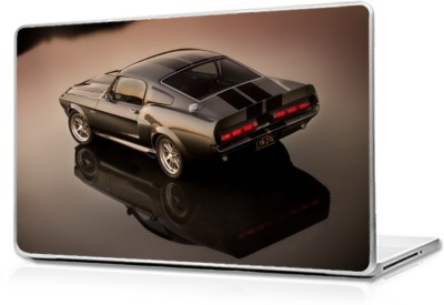 Global Muscle car style Vinyl Laptop Decal 17