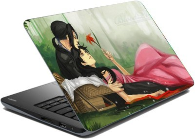 CrazyLiner Love Couple Vinyl Laptop Decal 15.6