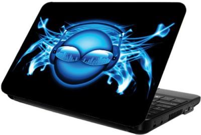 Printland Blue Speakers Vinyl Laptop Decal 14.2