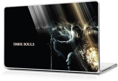 Global Dark souls Blue background Vinyl Laptop Decal