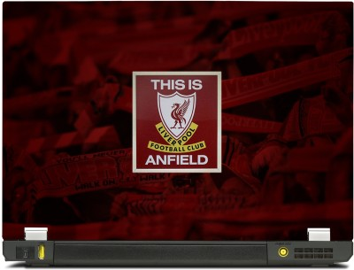 SkinShack New 3D Liverpool This is Anfield (13.3 inch) Vinyl Laptop Decal 13.3