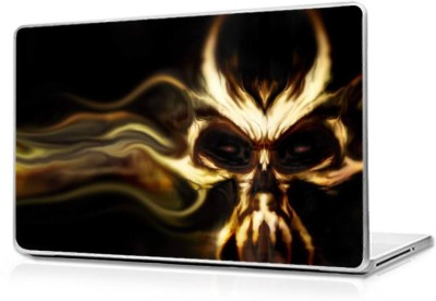 Automers Skin of Ghost - Reusable High Quality 3M Vinyl Laptop Decal 15.6