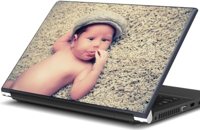 Artifa Cute baby sticking tongue out Vinyl Laptop Decal 15.6