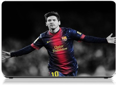 Friendly Formals Messi Vinyl Laptop Decal