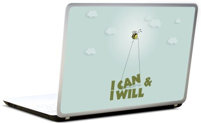 Lab No. 4 I Can & I Will Vinyl Laptop Decal 17