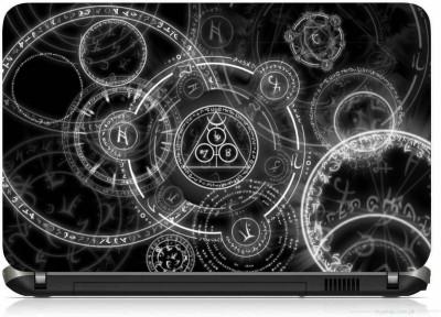 VI COLLECTIONS DIGITAL GEARS PRINTED VINYL Laptop Decal 15.6