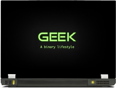 SkinShack Geek A Binary Lifestyle (13.3 inch) Vinyl Laptop Decal 13.3