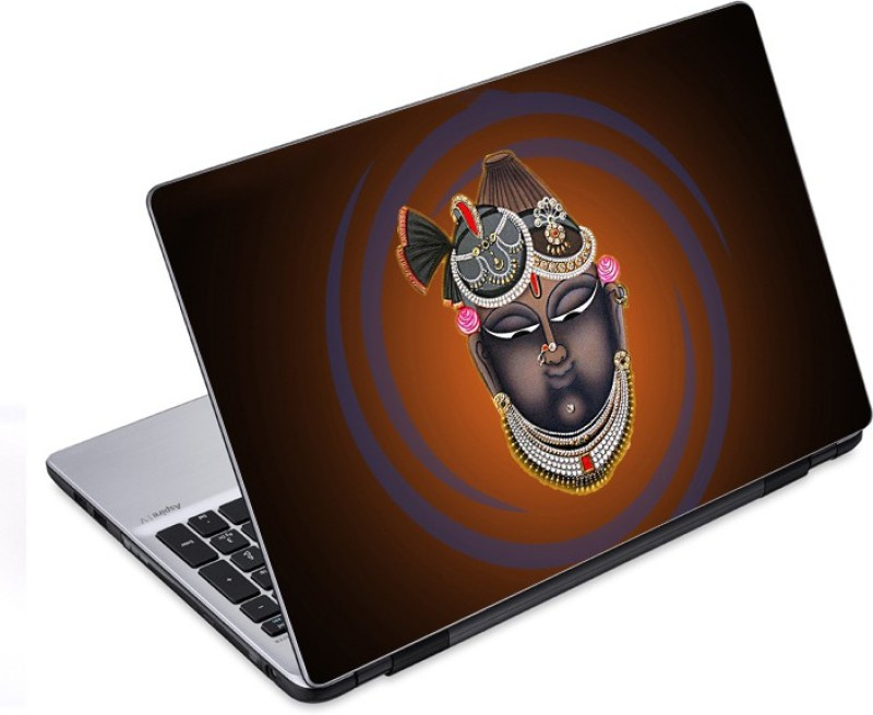 ezyPRNT Shrinathji face (14 to 14.9 inch) Vinyl Laptop Decal 14