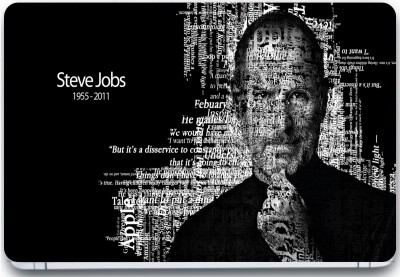 Trendsmate Steve Jobs Face Quotes 3M Vinyl and Lamination Laptop Decal 15.6