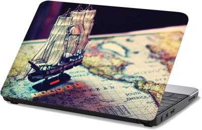 StyBuzz Travel Ship vinyl Laptop Decal 15.6