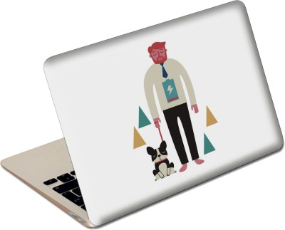 The Fappy Store A Mans Life Stylish Funky Vinyl Laptop Decal