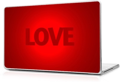 Automers Skin of Red Love - Reusable High Quality 3M Vinyl Laptop Decal 15.6