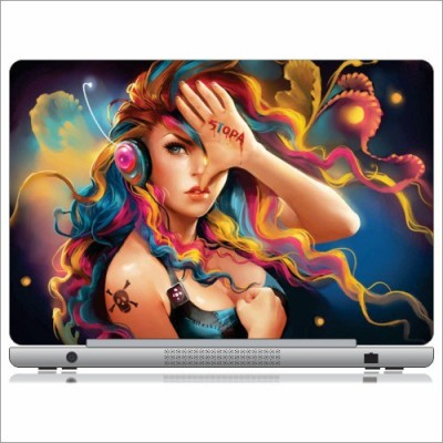Printland Talk To My Hand Skin LS151163 Vinyl Laptop Decal available at Flipkart for Rs.199