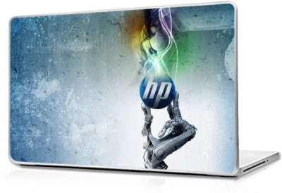 Automers Skin of hp Technology - Reusable High Quality 3M Vinyl Laptop Decal