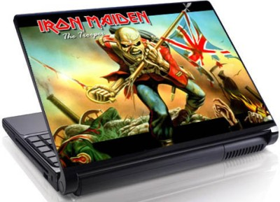 Theskinmantra Run With Maiden Vinyl Laptop Decal 15.6