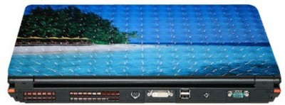 QP360 Island Skin 15.6 Vinyl Laptop Decal 15.6