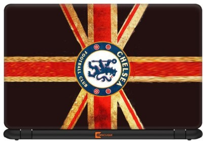 Ownclique Chelsea FC of UK Vinyl Laptop Decal 14.1